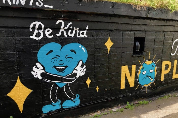 'There is no Planet B': new climate change mural appears in the Northern Quarter I Love Manchester
