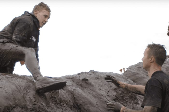 A blind Stockport man is taking on the Tough Mudder challenge - not once but TWICE I Love Manchester