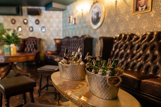 The Drawing Room at Peaky Blinders Bar