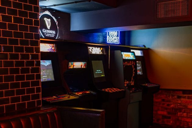 Basement pizza and hot dog bar Dogs n Dough is now retro gamer haven Saloonville I Love Manchester