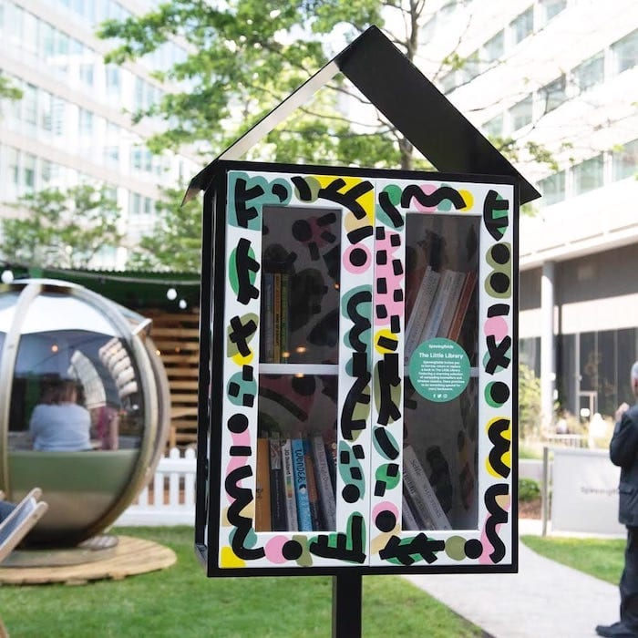 Is this the world's tiniest library? Spinningfields gets a birdhouse for book lovers I Love Manchester