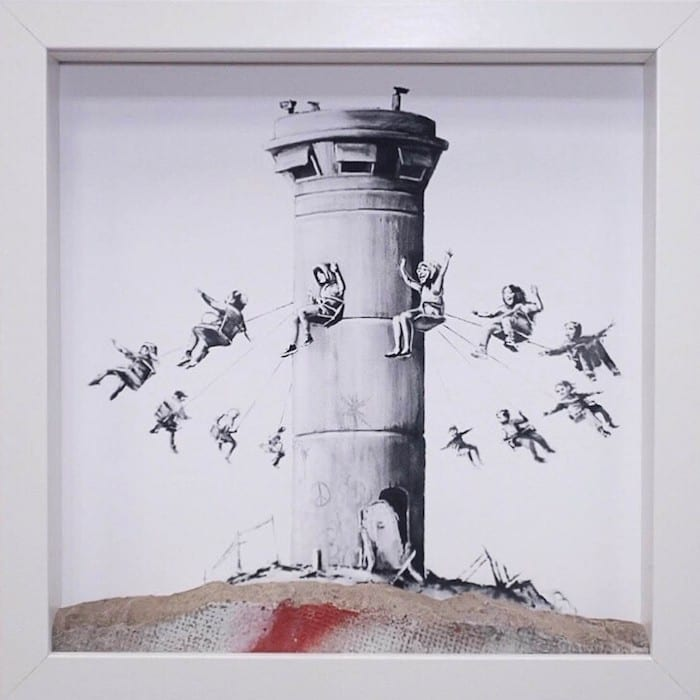 Find work by the world's top artists at Manchester Art Fair - and win a Banksy worth £1950 I Love Manchester