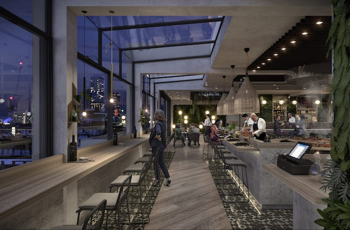 Spectacular new rooftop garden, restaurant and cinema revealed for iconic Manchester building I Love Manchester