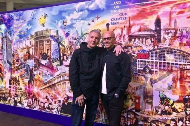 Manchester mural Clint Boon