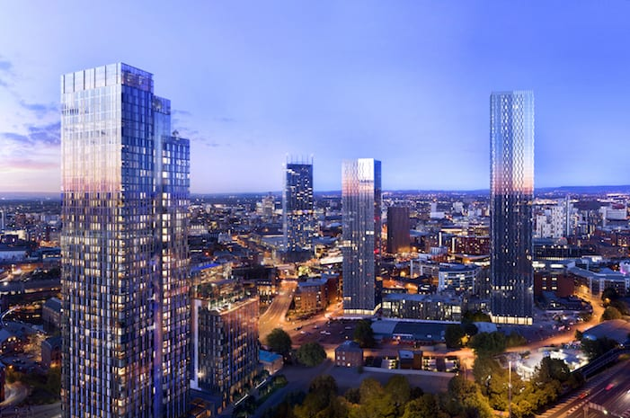See one of the hottest new places to live in Manchester city centre up close I Love Manchester