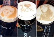 Personalised Guinness at Waxys