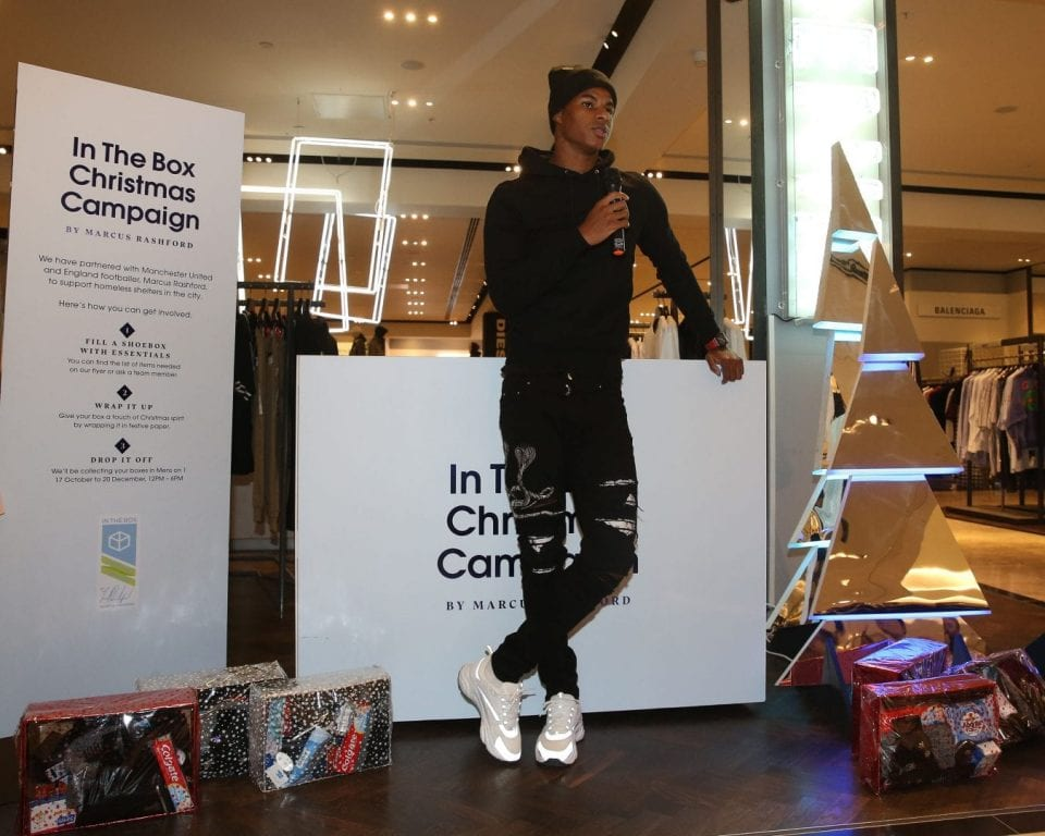 Marcus Rashford Launches Christmas Box Campaign To Help Manchester S Homeless I Love Manchester