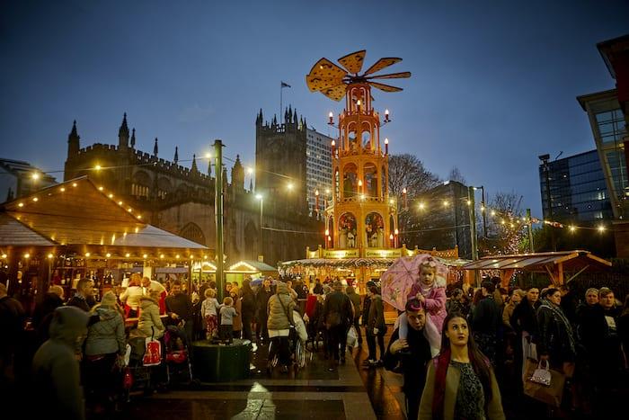 Mercados de Navidad de Manchester