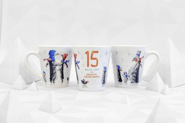 This year's Manchester Christmas Market mugs have been revealed I Love Manchester