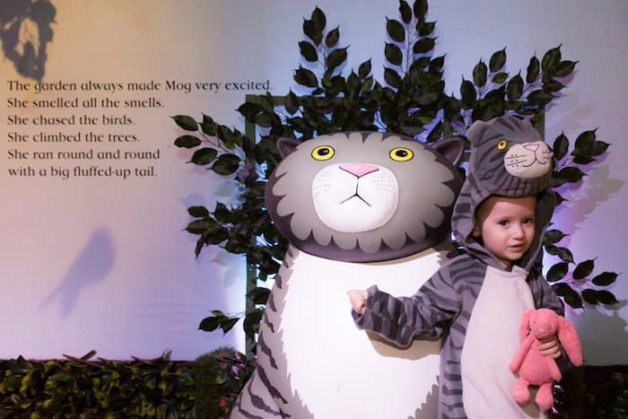 Major new kids exhibition celebrating Mog and Tiger who Came to Tea author announced for Manchester I Love Manchester