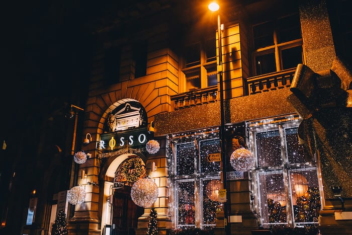 Party at Manchester's most Christmassy restaurant - Rosso reveals its festive menus I Love Manchester