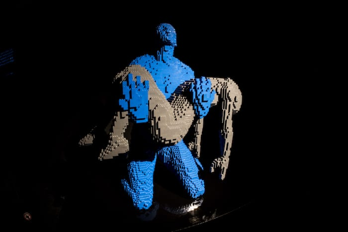 See iconic works of art made from LEGO at this exhibition opening in Manchester I Love Manchester