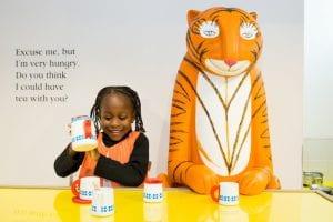 Tiger who came to tea Hulme