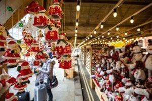 Market Street at Christmas