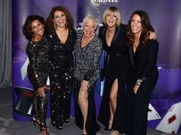 Denise Welch Loose Women stars ball
