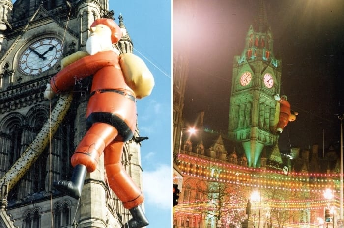 In pictures: Father Christmas in Manchester through the decades I Love Manchester