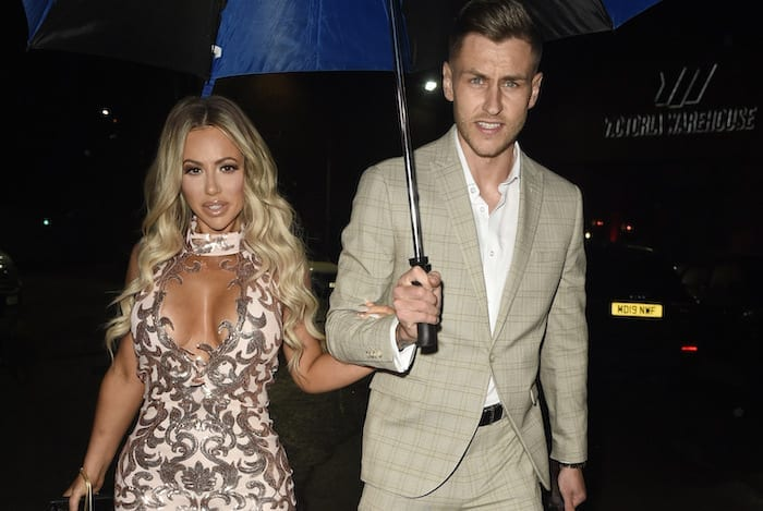 """Inside """"wildest engagement party ever"""" as reality star Holly Hagan and footballer Jacob Blyth celebrate in Manchester I Love Manchester"""