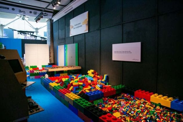 Inside the giant LEGO art exhibit at Manchester's Great Northern Warehouse I Love Manchester