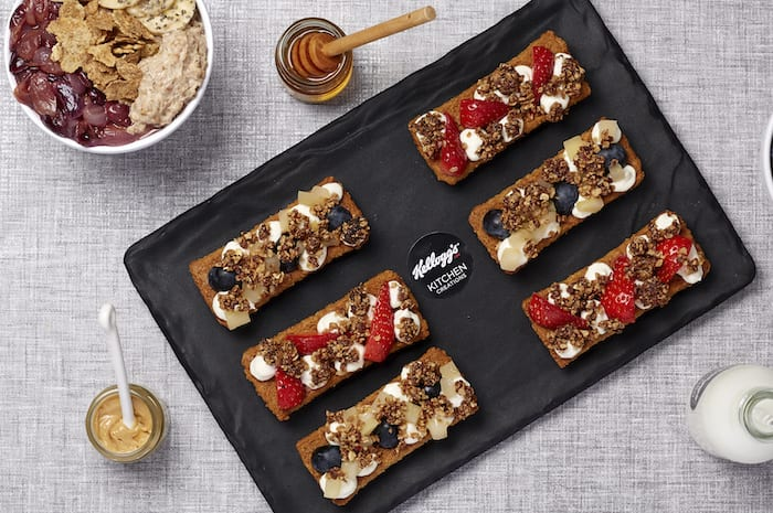 Kellogg's launches Manchester Deliveroo kitchen with Corn Flakes cheese bites and All Bran hotdogs I Love Manchester