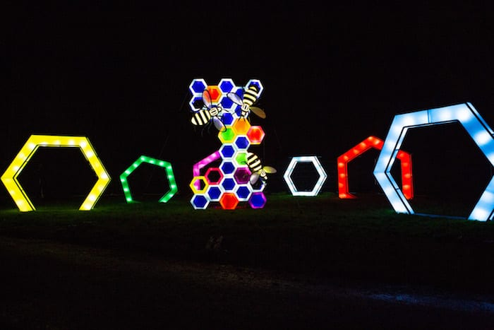 Spend the last day of the year surrounded by stunning immersive light installations at Lightopia I Love Manchester