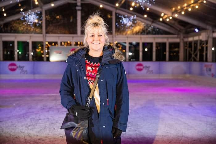 Lisa George on ice