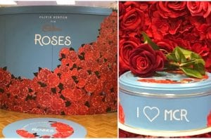 Roses tins at Kendals