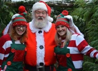 Santa at Cockfields Farm