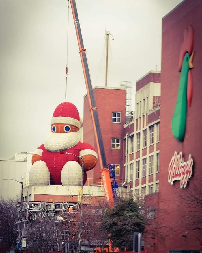 Zippy santa
