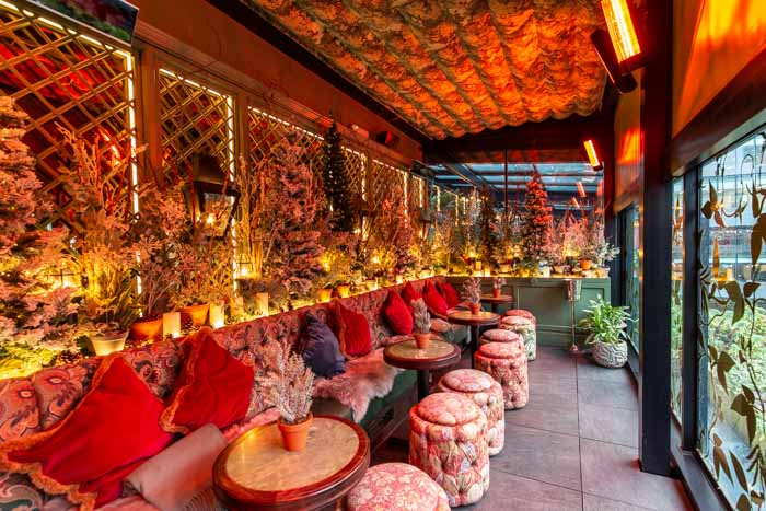The Ivy has transformed its roof terrace into the North and South Pole I Love Manchester