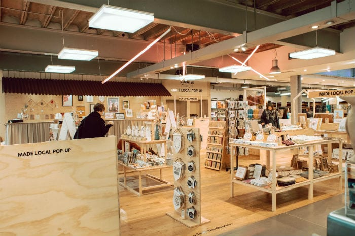 A new Christmas pop-up in Paperchase is supporting over 40 small local businesses I Love Manchester