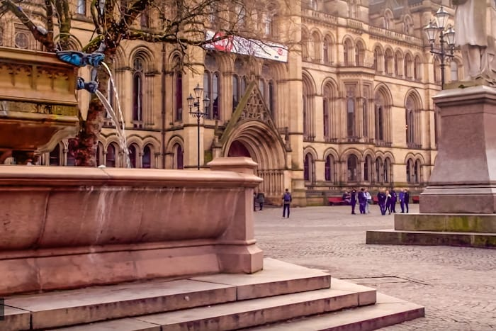 Plans revealed for town hall following restoration - and proposals include flexible office space I Love Manchester