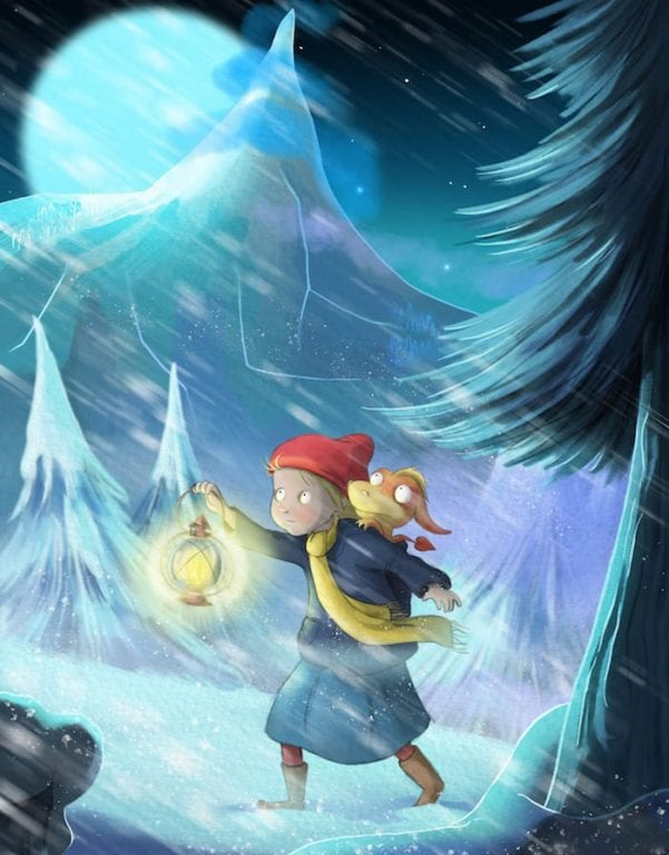 Mimi and The Mountain Dragon: the new BBC Christmas animation made in Altrincham I Love Manchester