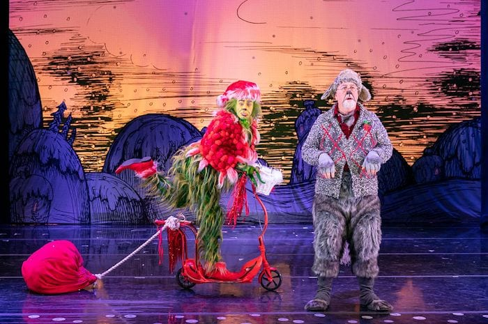 Dr Seuss' How The Grinch Stole Christmas review: it's like flicking through the famous childrens' books I Love Manchester
