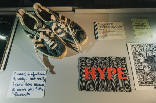 The trainer and UK rave exhibit celebrating 30 years of dancing in Manchester and the North I Love Manchester