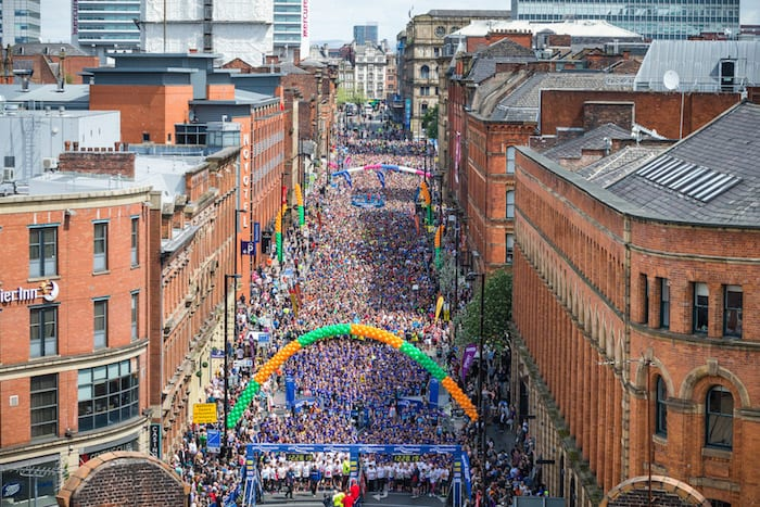 The Great Manchester Run returns to shut down the city this May I Love Manchester