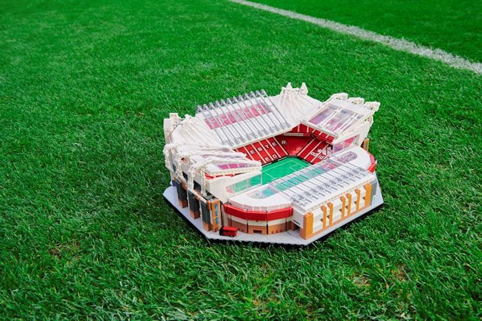 Man United fans will soon be able to build a LEGO® model of the Theatre of Dreams I Love Manchester