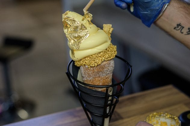 24-carat gold ice cream cones are now a thing - and you can get them in Bolton I Love Manchester