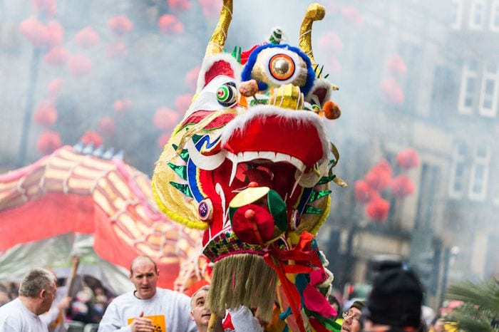Chinese New Year 2020 in Manchester: an illuminated dragon dance, street food and a fireworks finale I Love Manchester