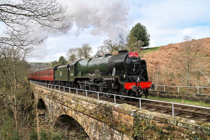 A vintage steam train is coming through Greater Manchester this weekend - here are the best places to spot it - I Love Manchester
