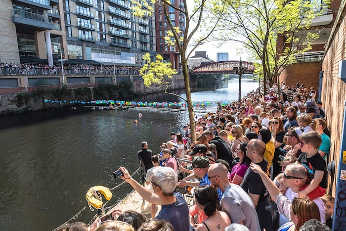 Manchester Duck Race is a fun-packed day out - and raises money for a great cause I Love Manchester
