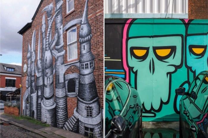 Find hidden street art murals across Greater Manchester using this new app - I Love Manchester