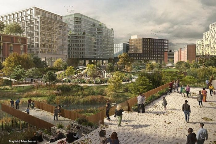 Manchester is getting its first new city centre park in 100 years - here's how it will look I Love Manchester