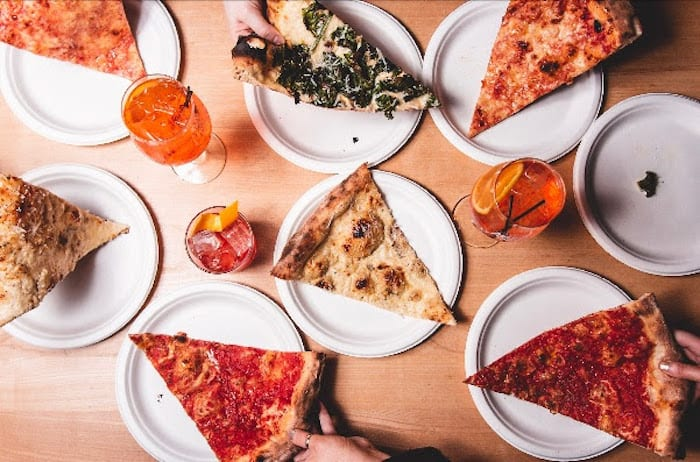 """A New York-inspired pizza kitchen with 22"""" pies is opening in the Northern Quarter I Love Manchester"""
