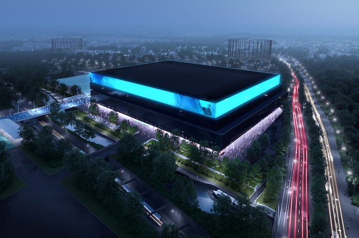Plans revealed to build the UK's biggest indoor arena right here in Manchester I Love Manchester