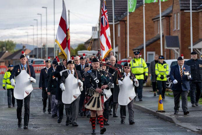 New road dedicated to Rochdale soldier killed in Gulf War 'friendly fire' on the estate where he grew up I Love Manchester