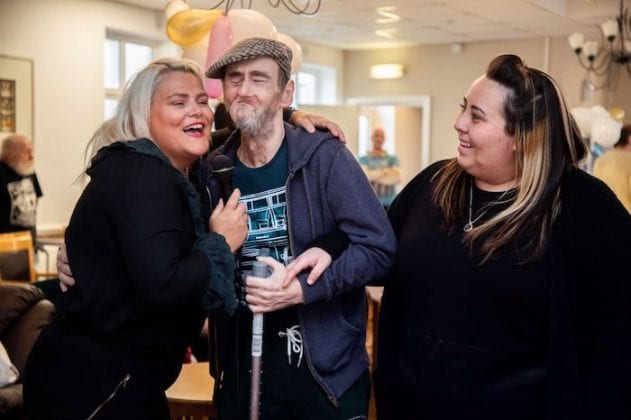Karaoke helps raise spirits of residents on lockdown at Salford care home I Love Manchester