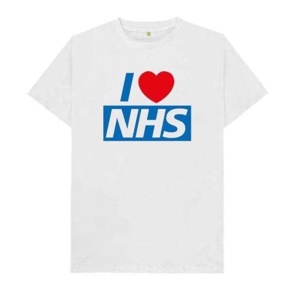"Unisex ""I Love NHS"" T-Shirt I Love Manchester"