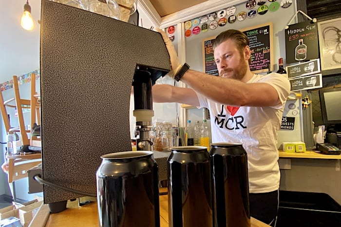 This Salford micropub is now delivering fresh draft beer in cans to your doorstep I Love Manchester