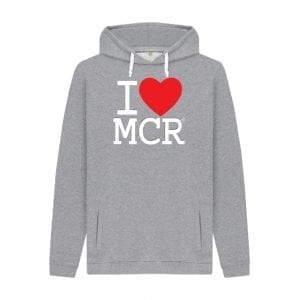 I Love MCR Hoodie I Love Manchester