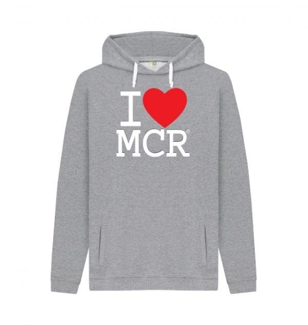 I Love MCR Hoodie I Love Manchester